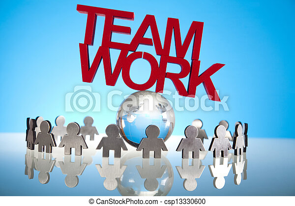 Business team - csp13330600