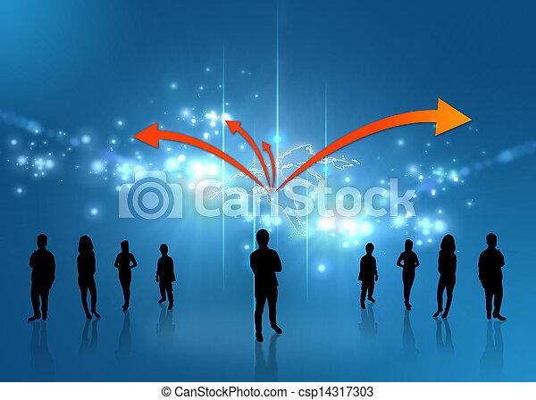 Business team  - csp14317303