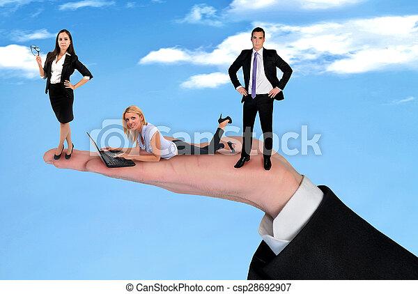 Business team - csp28692907