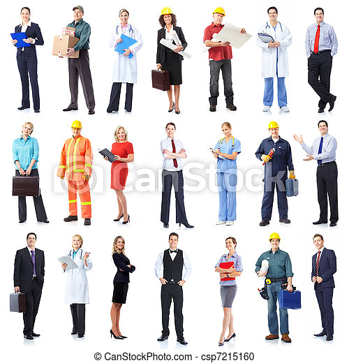 Business team. - csp7215160