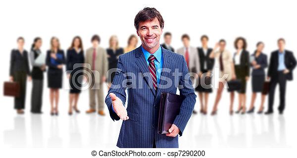 Business team. - csp7290200