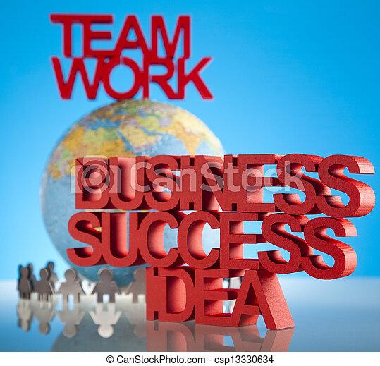 Business team - csp13330634