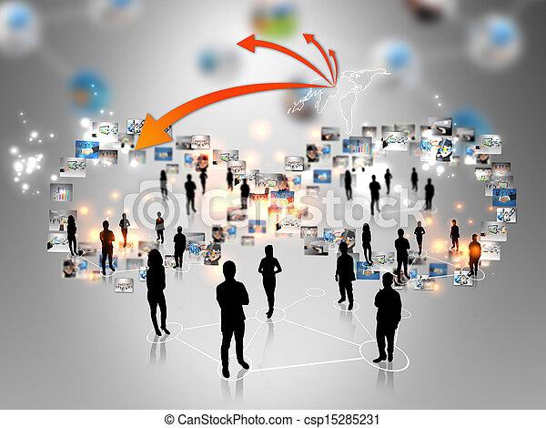 Business team - csp15285231