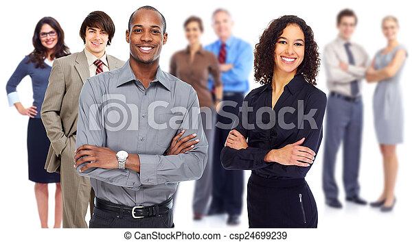 Business team. - csp24699239