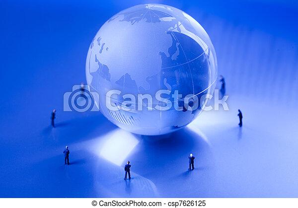 Business team work - csp7626125