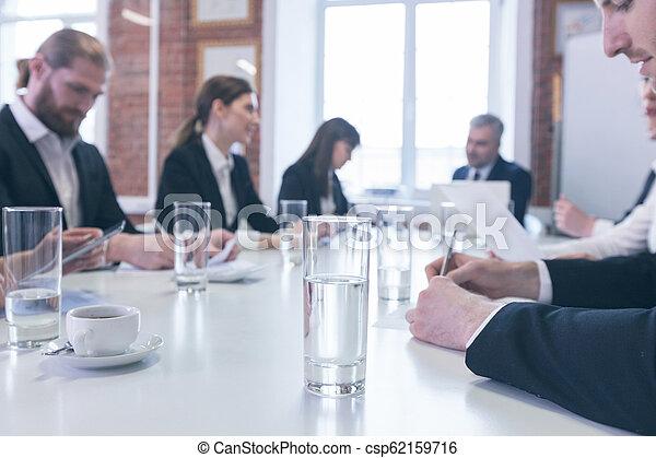 Business team working - csp62159716