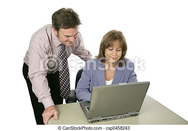 Business Team Working - csp0458243