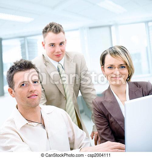 Business teamwork - csp2004111