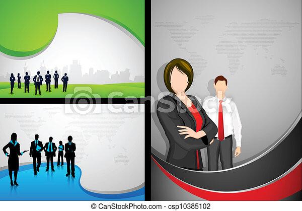 Business Template - csp10385102