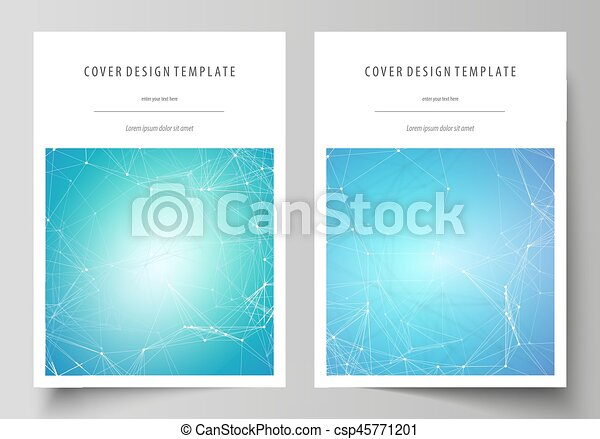 Business Templates For Brochure Magazine Flyer Booklet Vector