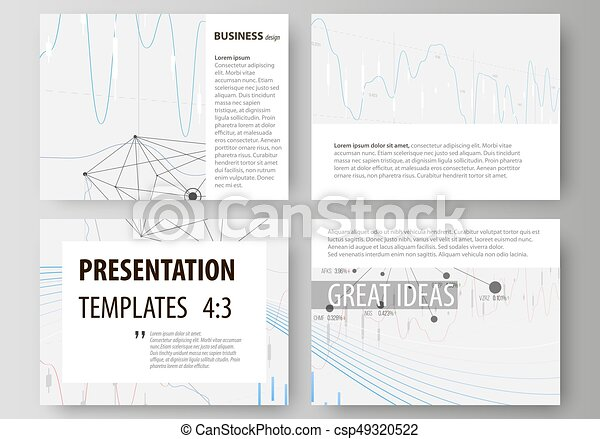 Business Templates For Presentation Slides Vector Layouts Abstract Infographic Background In Minimalist Design Made