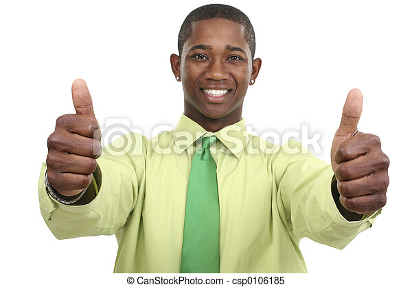 Business Thumbs Up - csp0106185