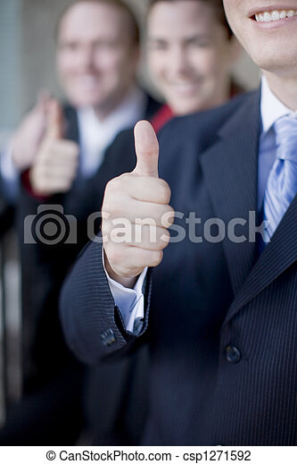 Business Thumbs-up - csp1271592