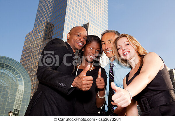 Business Thumbs Up - csp3673204