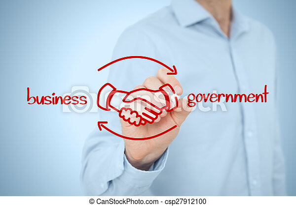 Business to government B2G - csp27912100