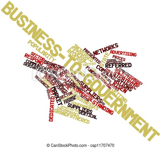 Business-to-government - csp11707470