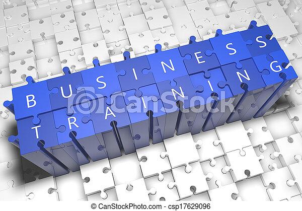 Business Training - csp17629096