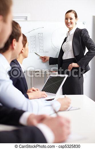 Business training - csp5325830