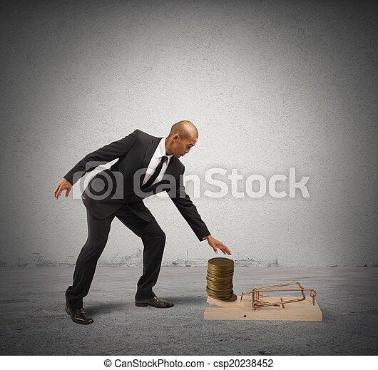 Business Trap - csp20238452