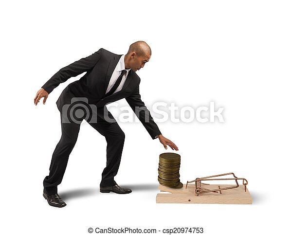 Business Trap - csp20974753