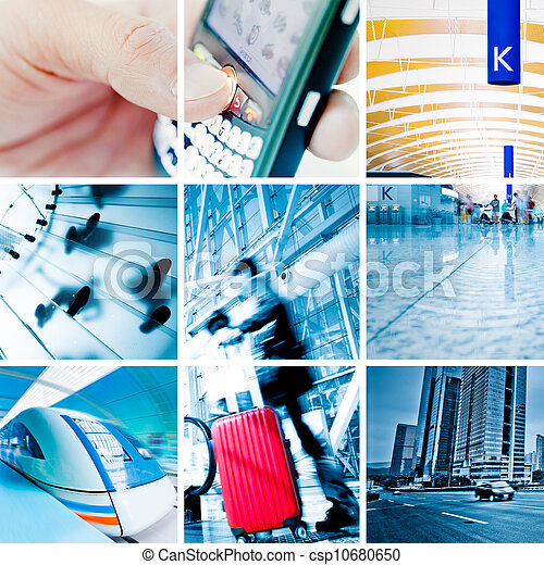 Business Travel Photo Collection - csp10680650