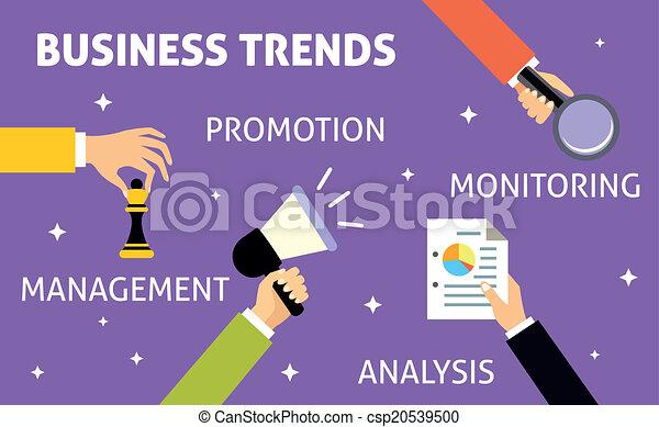 Business trends hands - csp20539500
