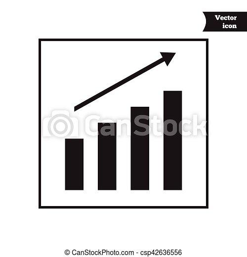 Business Vector Progress Diagram Growth Chart Clipart Vector