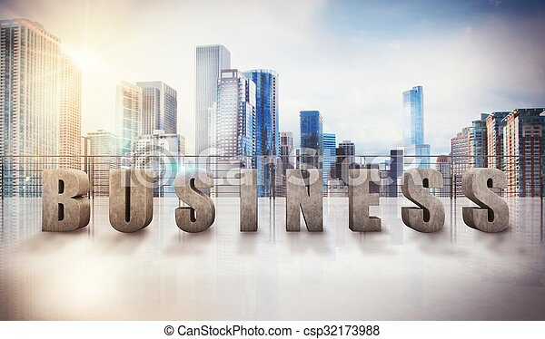 Business view - csp32173988