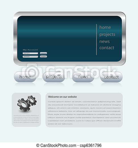 Business website - csp6361796