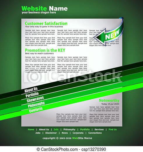 Business WebSite Template - csp13270390