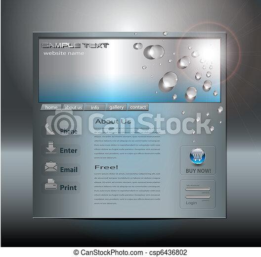 Business website template - csp6436802