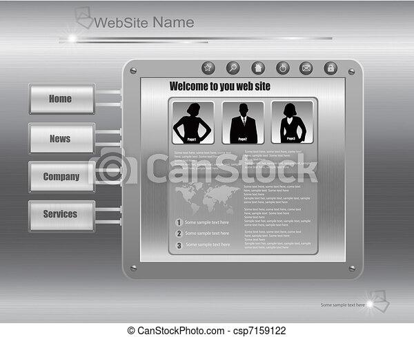 Business website template - csp7159122