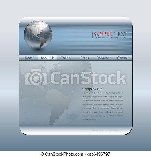 Business website template - csp6436797