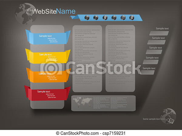 Business website template - csp7159231