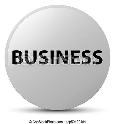 Business white round button - csp50490464