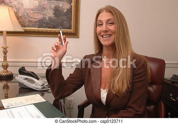 business woman 1 - csp0123711