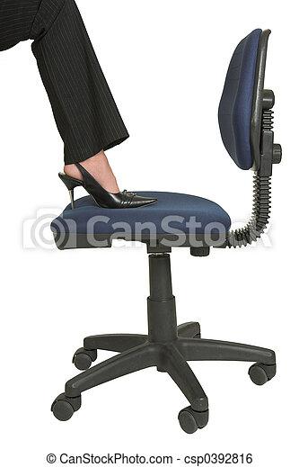 Business Woman #550 - csp0392816
