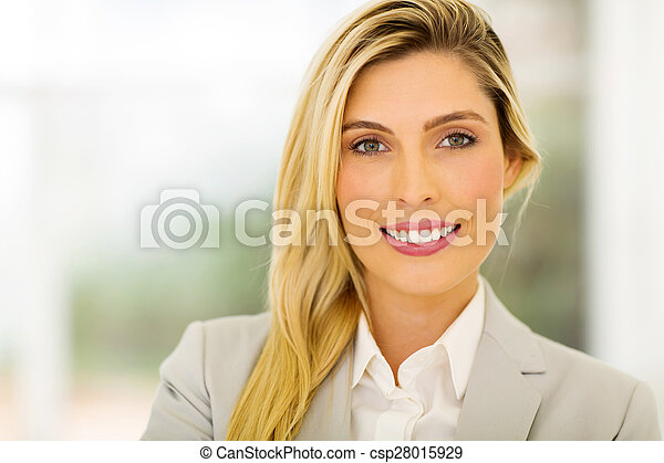business woman in office - csp28015929