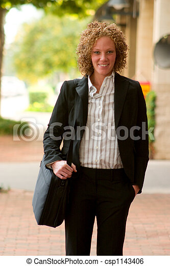 Business Woman In The City 11 - csp1143406