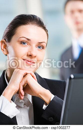 Business woman  - csp1002277