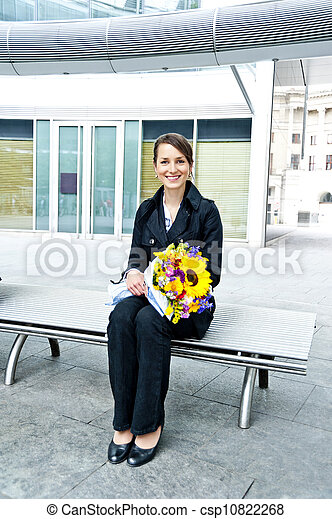 Business Woman - csp10822268