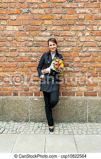 Business woman - csp10822564