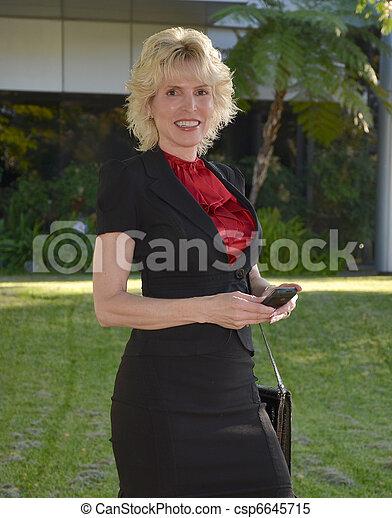 Business Woman - csp6645715