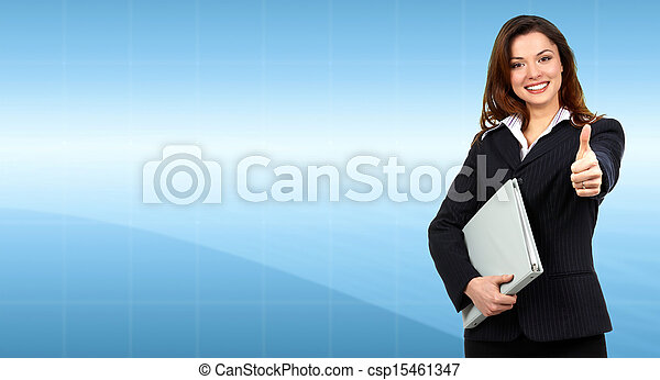Business woman. - csp15461347
