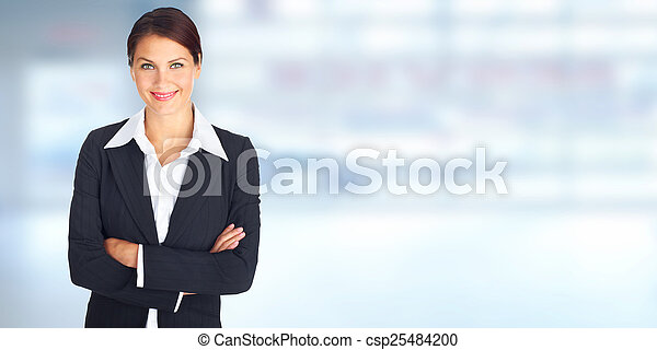 Business woman - csp25484200