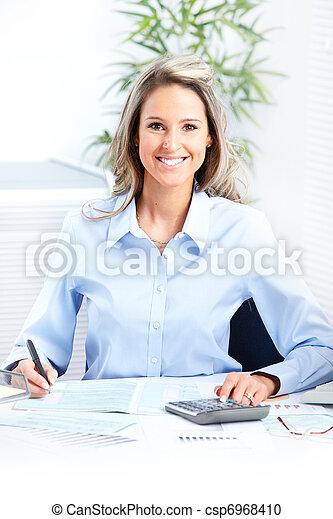 Business woman - csp6968410