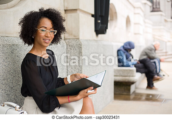 business woman - csp30023431