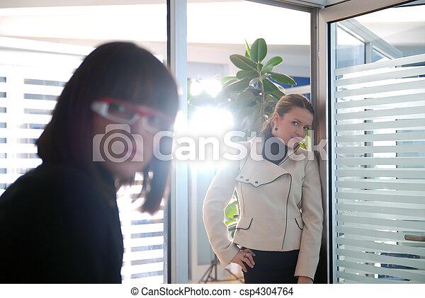 business woman team - csp4304764