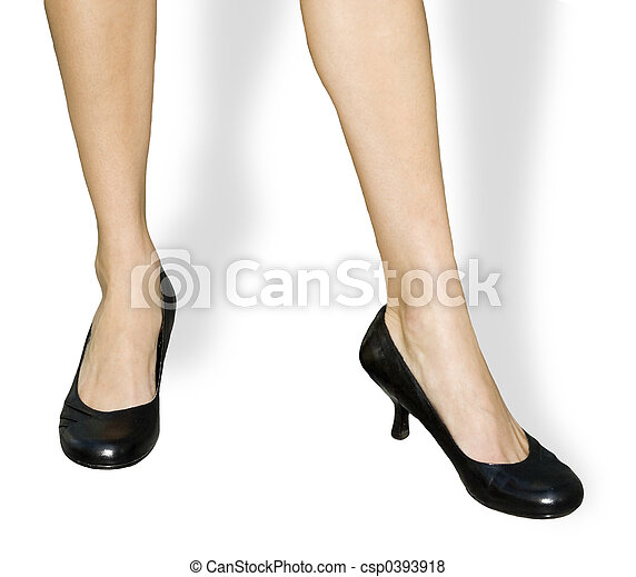 Business Woman's Feet - csp0393918