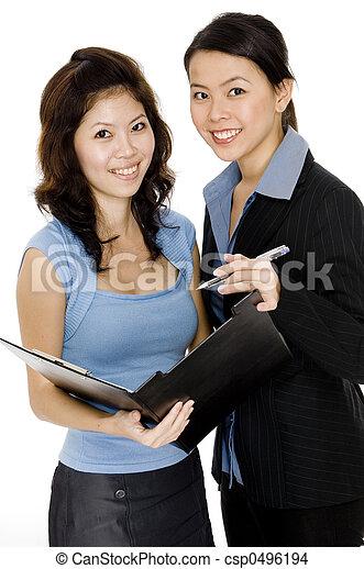 Business Women - csp0496194